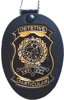 Distintivo do Curso de Detetive Particular